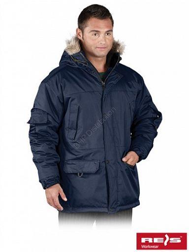 Kurtka robocza zimowa GROHOL - INTERNETOWY SKLEP BHP - artykuły i sprzęt bhp, odzież robocza, środki ochrony indywidualnej