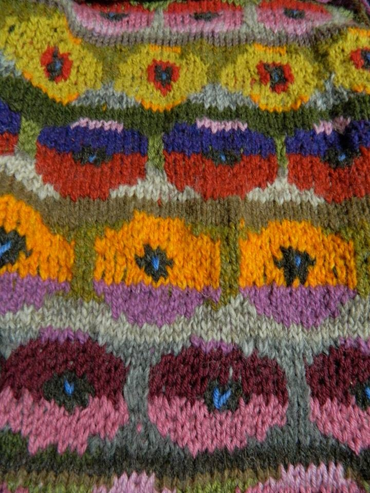 Beautiful Knit by my aunt, pattern by Kaffe Fasset ...