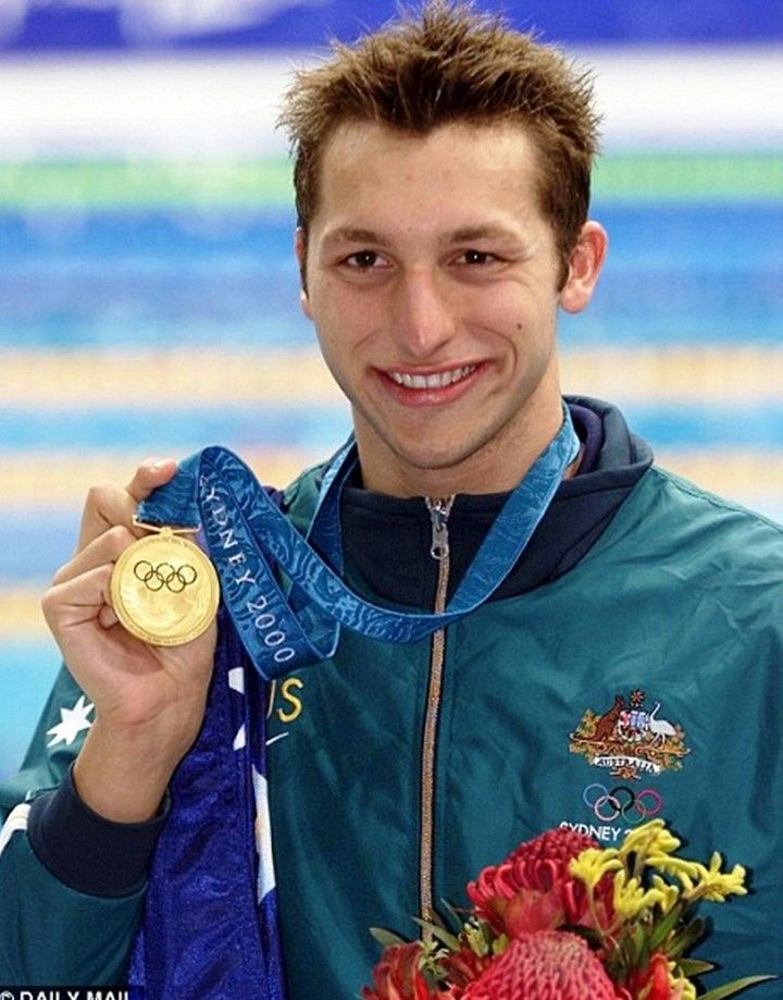 Ian Thorpe won gold medals for the 400 metres freestyle and the 4 x 100 and 4 x 200 metres freestyle relays at the 2000 Olympics