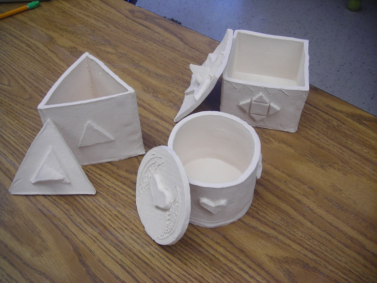 clay slab boxes