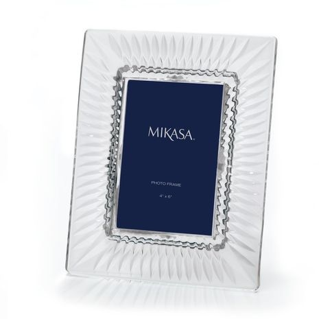 buy mikasa capella x crystal frame from at bed bath beyond mikasa capella crystal picture frame is a functional and giftable piece that has both
