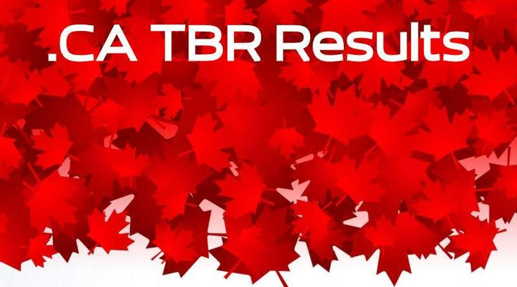 The Latest .CA To Be Released (TBR) Results showed a drop to 72 domains selected, including premium ones like YYC.CA and BRANDY.CA, and there are still a lot of TBR .CA domains to register.