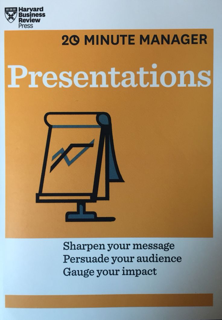 Presentations - Harvard Business Review Press - 2014 - #managerseries #management