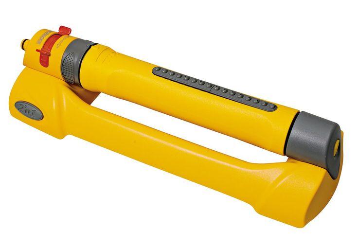 Hozelock Yellow 2-In-1 Adjustable Oscillating Sprinkler | Departments | DIY at B&Q