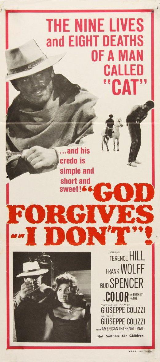 Australian daybill for GOD FORGIVES...I DON'T!