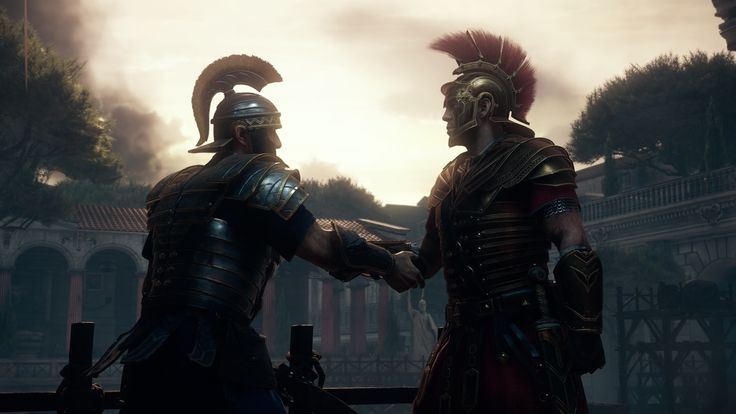 """""""A brave man tastes death once. Cowards, a thousand times over."""" - Ryse: Son of Rome"""