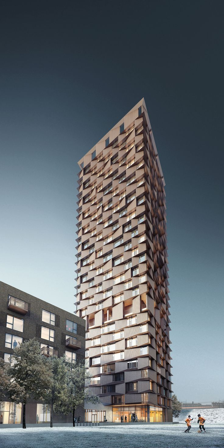 Uptown Nørrebro student housing, Copenhagen