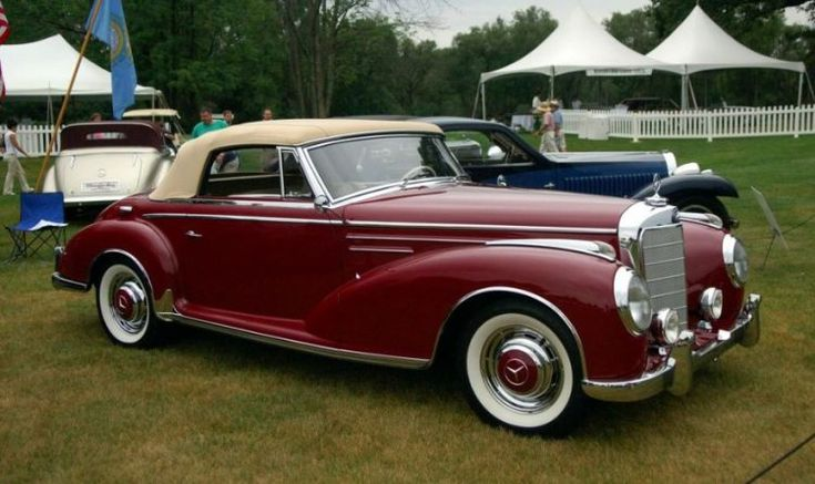 Cars The Top 10 Mercedes Models of the 1950s