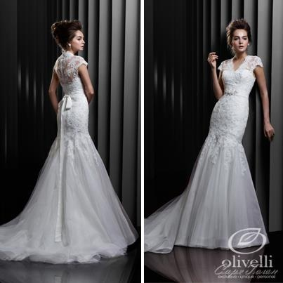 Introducing one of the stunning lace dresses from Enzoani's Beautiful collection for 2013.  Direct... pinned with Pinvolve