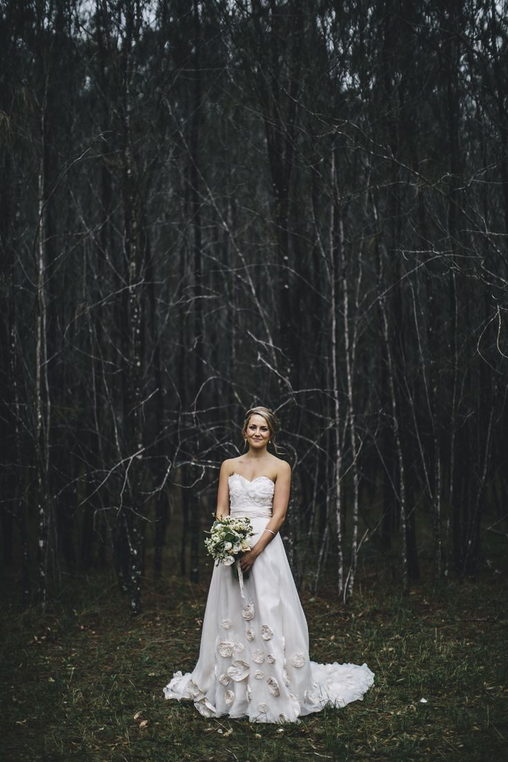 Hunter Valley wedding. Dress by Kel-Leigh Couture Image: Cavanagh Photography. http://cavanaghphotography.com.au