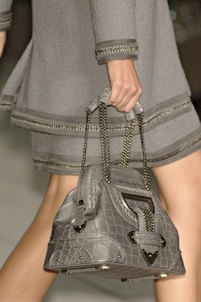 Gray details by Christian Dior Spring 2007 Details