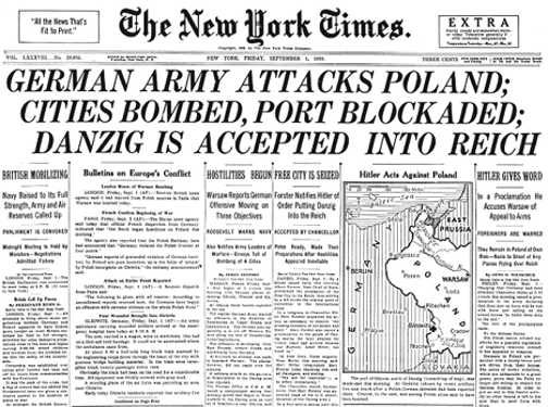 A Great Piece Of War Footage History : Invasion Of Poland By The German Army (Pictures and Video) | War and Conflict