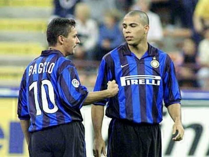 #Ronaldo and #Baggio #inter