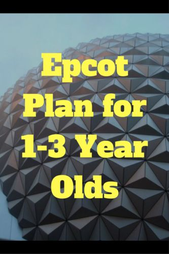Planning on spending a day in Epcot with 1-3 year olds? Here is a plan that aims to help you see all the key points. Is there anything missing from the plan that your 1-3 year old loved?