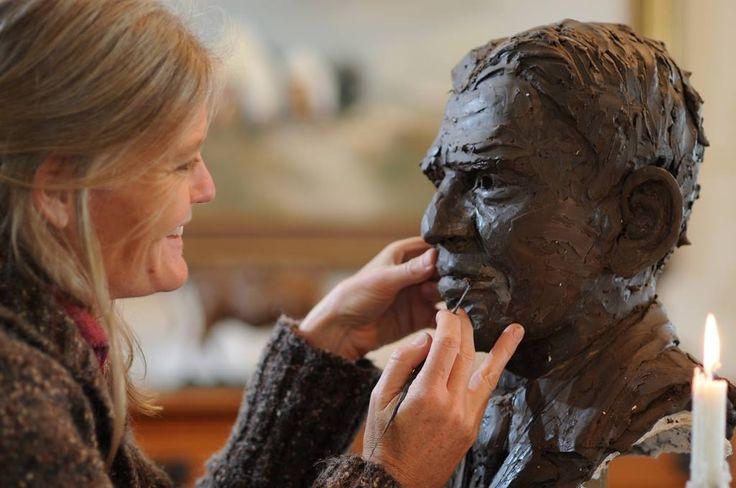 Sarah Richards has an extensive portfolio of exquisite bronze sculptures, ranging from figurative studies to birds and animals.  www.midlandsmeander.co.za
