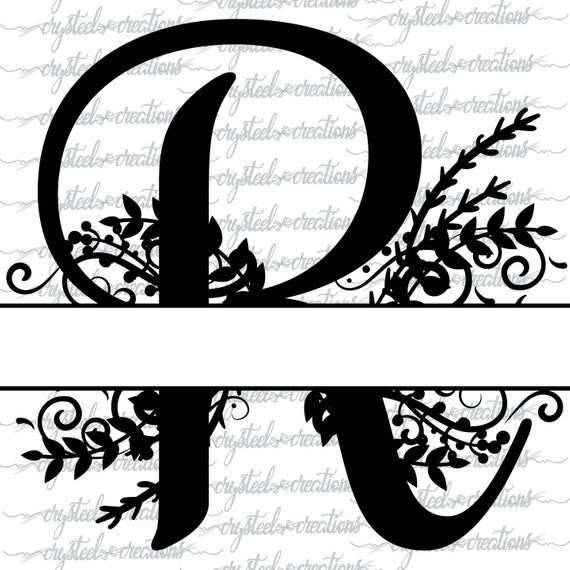 Split monogram letter H file svg dxf cutting file for cameo cricut silhouette,wedding cutting file,wedding svg,