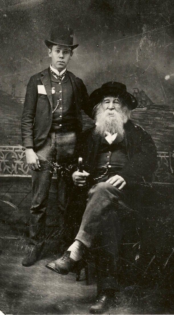 Bill Duckett, young orphan taken by Walt Withman, was his coachman and probably his lover.