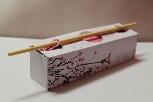 Enso Sushi Box Concept by Tom Declat, via Behance