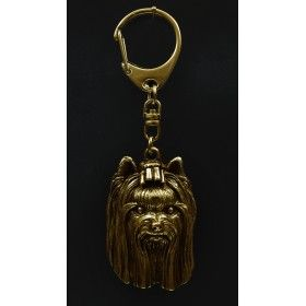 Keyring gilded with gold trial 999 (2)