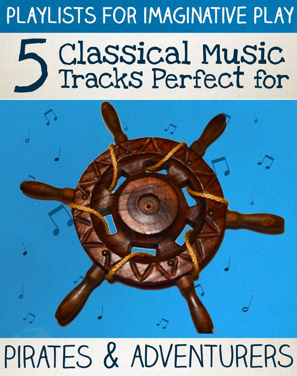 Collection of Free Pirate Music - 5 Classical Music Tracks Perfect For Pirates & Adventures
