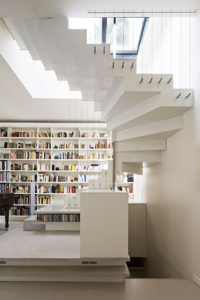 Stair Step Bookcase 113 best book storage images on pinterest | architecture, book