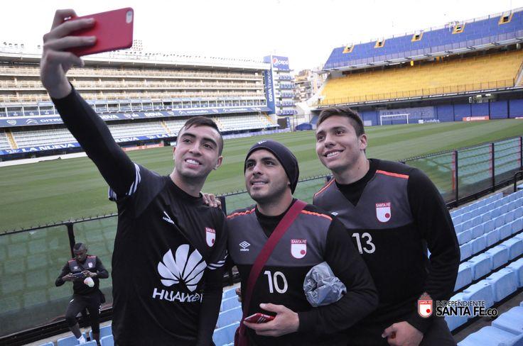 [Galería de Fotos] Entrenamiento del León en Buenos Aires | Independiente Santa Fe