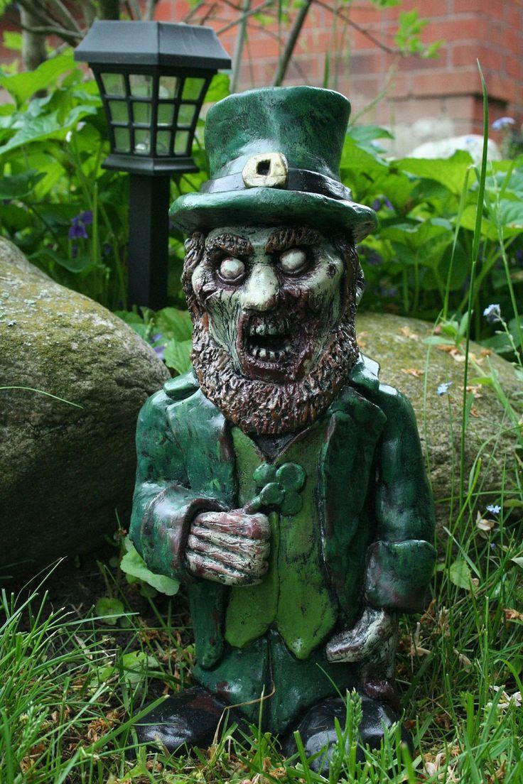 The Leprecadaver Green Irish Leprechaun Zombie Gnome by RevenantFX -- ready for next St Paddy's Day :)