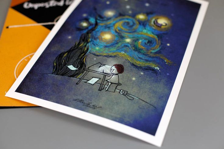 Letter to Van Gogh | Unposted Letters | Art Print | Limited Edition
