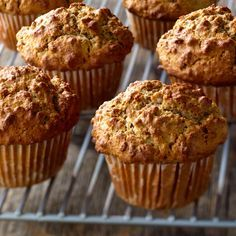 Sometimes the best things are kept simple… just like these hearty and moist muffins.