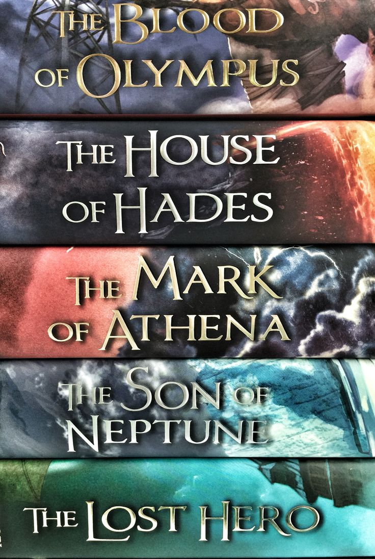 The Heroes of Olympus by Rick Riordan - sequel series to Percy Jackson and the Olympians - read the first series first, and these will make more sense. First book for this one is The Lost Hero