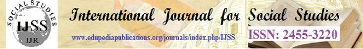 International Journal for Social Studies