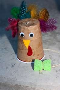Thanksgiving preschool art