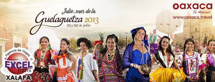 La Guelaguetza es una celebración que tiene lugar en la ciudad de Oaxaca de Juárez, capital del estado mexicano de Oaxaca. La Guelaguetza forma parte de los cultos populares a la Virgen del Carmen, razón por la que se celebra los dos lunes más cercanos a la festividad católica de esta advocación mariana.La Guelaguetza 2013 se realizará los lunes 22 y 29 de julio en el Auditorio Guelaguetza.