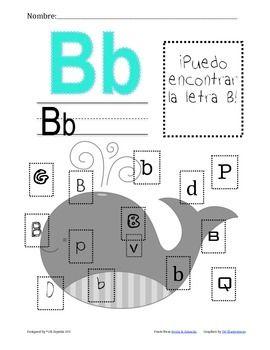 Actividades y poema para practicar la letra B