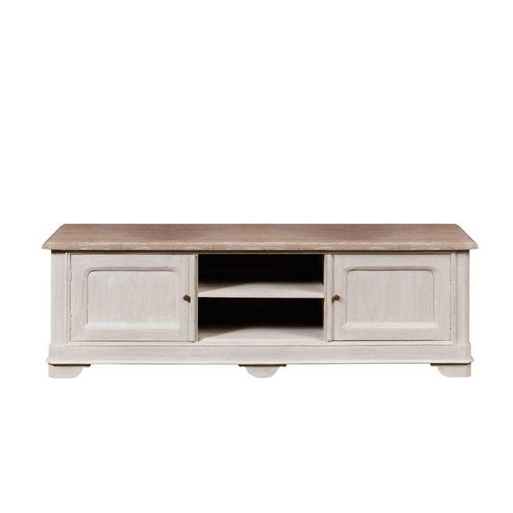 Fernsehtisch Im Vintage Look Weiß Holz Jetzt Bestellen Unter: ...
