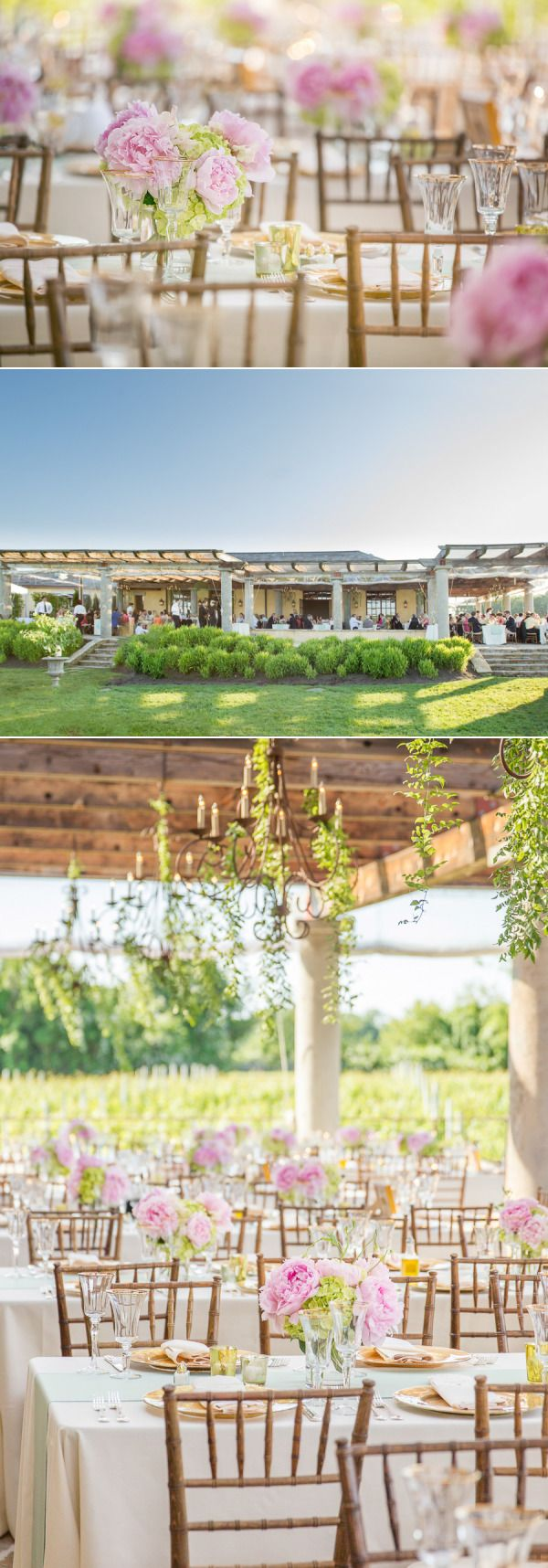 Wolffer Estate, Vineyard Wedding, Hamptons, New York from Melani Lust Photography - Style Me Pretty