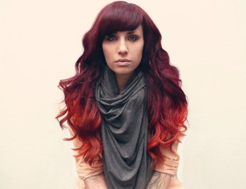 ombre ombre ombre: Redombre, Hair Colors, Red Hair, Haircolor, Ombrehair, Red Ombré, Hair Style, Red Ombre Hair, Hair Trends