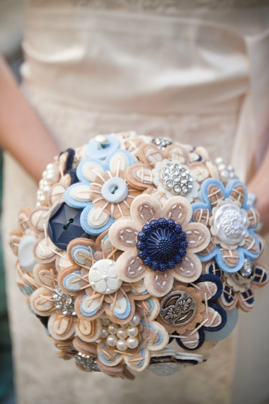 Button bouquet - the new flowers?