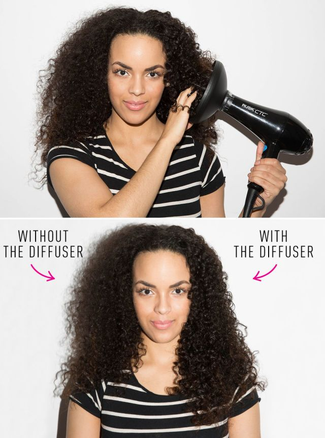 how to get frizzy hair without heat