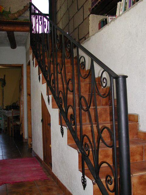 Pasamanos de escalera elementos de arquitectura - Pasamanos de escalera ...