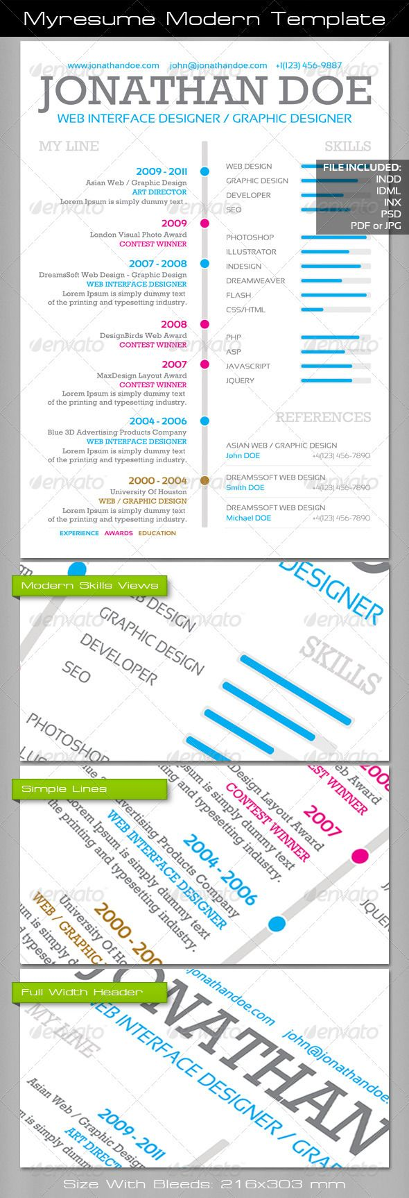 best images about photoshop resume templates myresume modern template award education experience resume realistic photo graphic print obejct business web elements illustration design