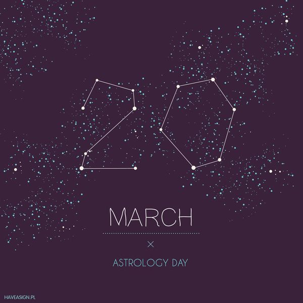 20th March - Astrology Day   /// Dzień Astrologii / by haveasign