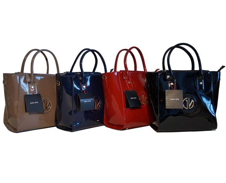 Ecopelle finitura vernice per le borse Guido Vietri linea Apollonia modello 001. Per te nel nostro shop su Amazon.it: http://www.amazon.it/s/ref=sr_nr_p_4_1?me=AMVJO3UPU429R&fst=as%3Aoff&rh=p_4%3AGuido+Vietri&ie=UTF8&qid=1444567451