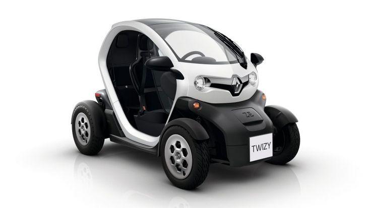 Renault TWIZY - Diseño exterior - Electrico