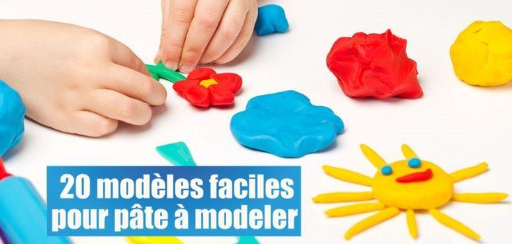 Modèles pâte à modeler : 20 idées simples
