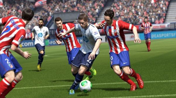 the new update by EA adds the World Cup teams to the roster in the #FIFA 14 video game and makes it even more real.