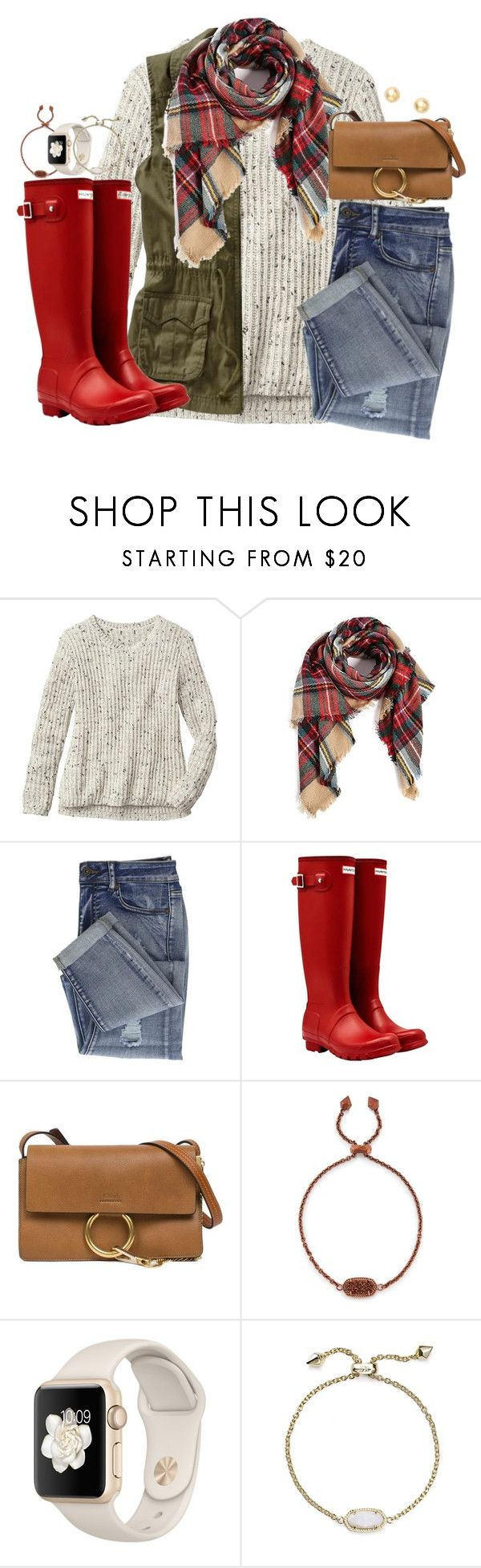 """""""would y'all like to see a christmas gift haul?? comment!!"""" by kaley-ii ❤ liked on Polyvore featuring Gap, Old Navy, Hunter, Chloé, Kendra Scott and Bony Levy"""