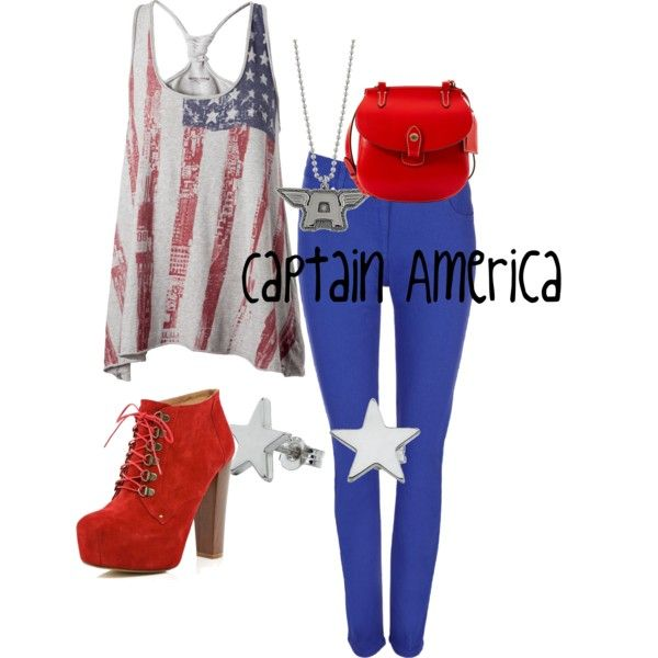Captain America outfit! <3