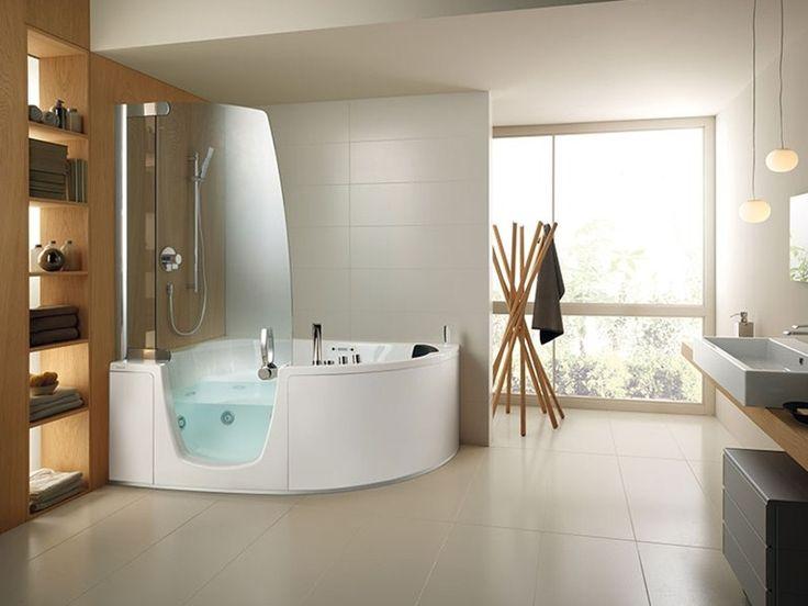 17 migliori idee su vasca da bagno doccia su pinterest - Vasca da bagno in cemento ...