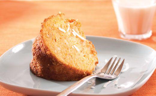 Epicure's Sweet Potato Coconut Cake